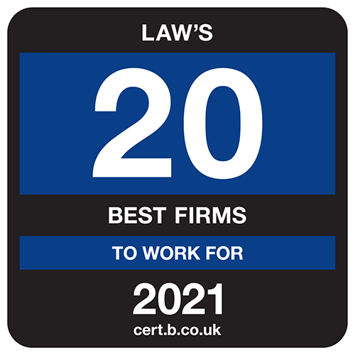 UK's 20 Best Law Firms to Work