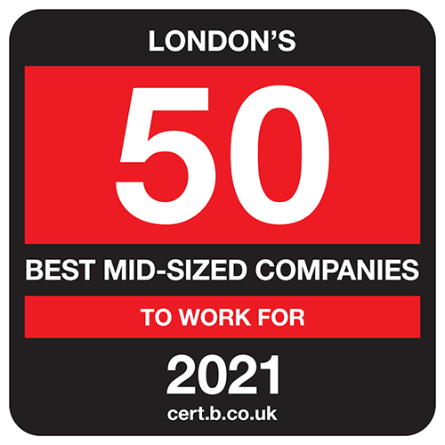 London's 50 Best Mid-Sized Companies to Work